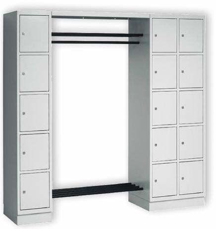Stahl Garderoben-System MARION
