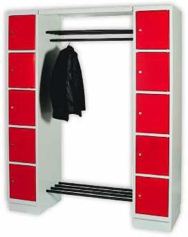 Stahl Garderoben-System TIMO