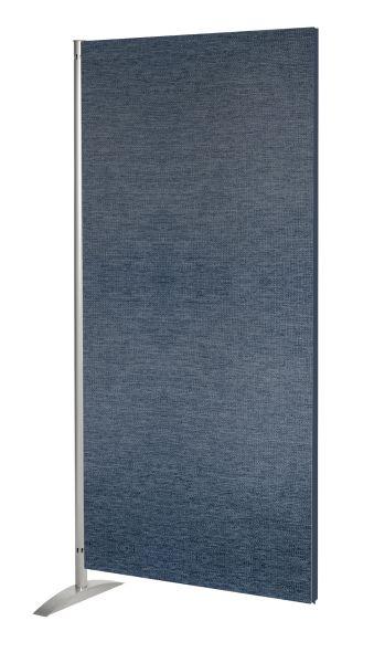 Sichtschutzwand Schallschutz Metropol, Textil-Element, blau, Breite 80 cm x Höhe 175 cm