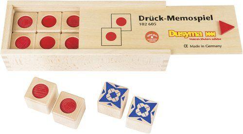 Drück-Memospiel