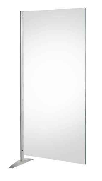 Sichtschutzwand Metropol, Transparent-Element, lichtdurchlässiger Sichtschutz, B: 80 cm x H: 175 cm