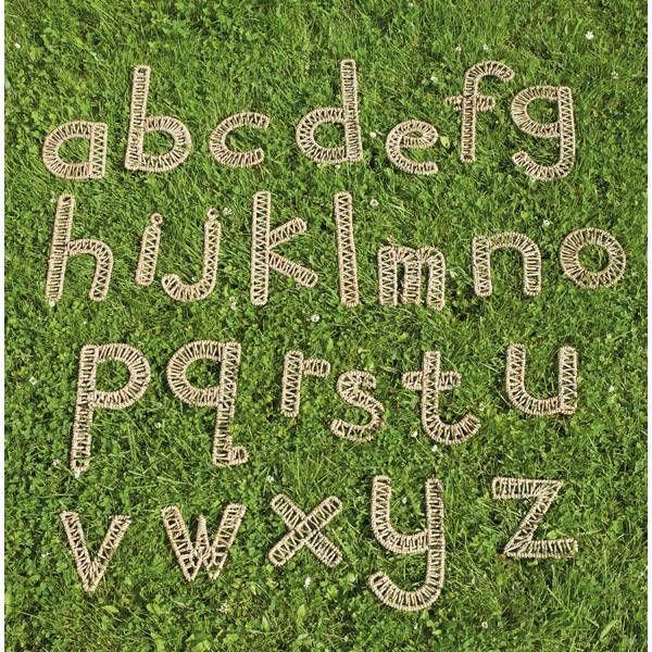 Web-Buchstaben 26er Set