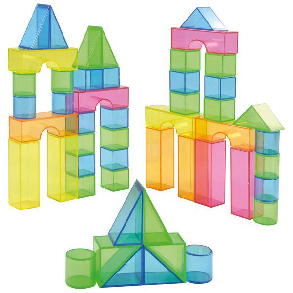 Transparentblocks 50 Teile