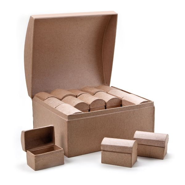 Karton-Schatztruhe 30 in 1 Set