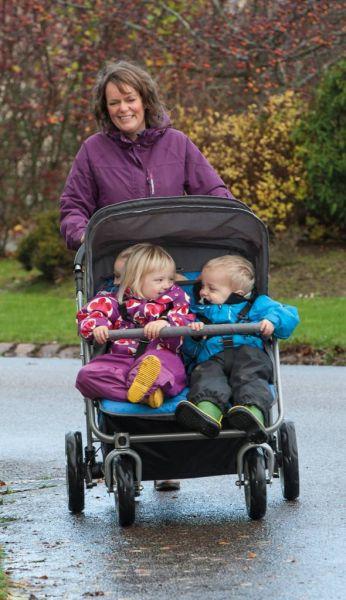 Buggy für 4 Kinder