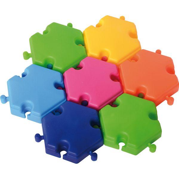 Hexagon Bausteine 96-tlg.