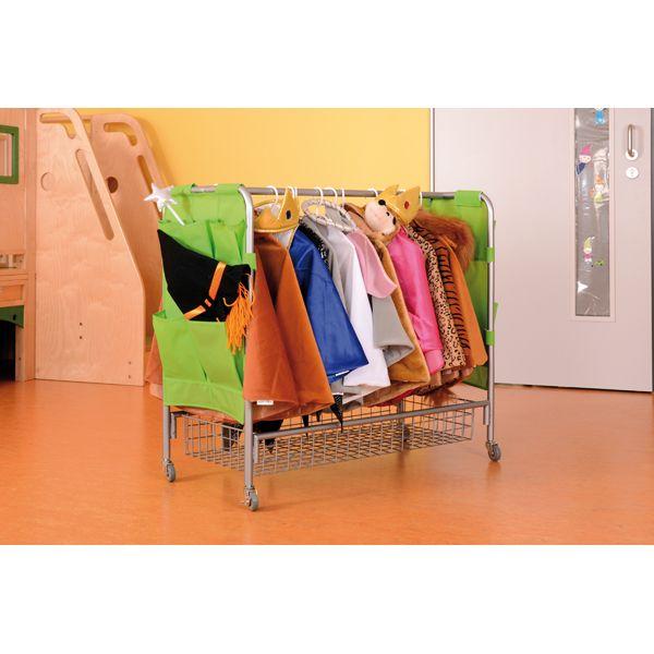 Garderobe fahrbar