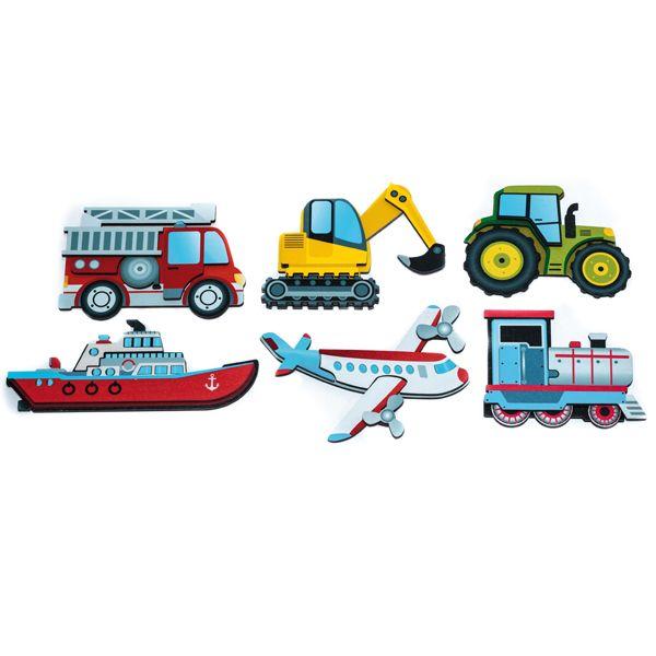 Magnetpuzzle Transport