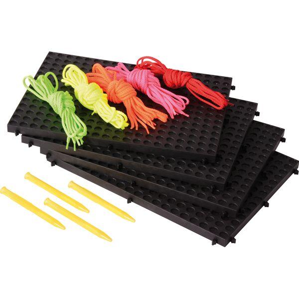 Playboard 4er Set schwarz