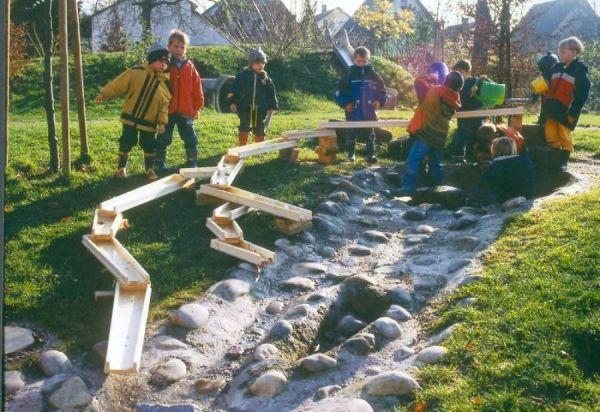 Viadukt Wasserspielanlage Komplettset 11 Teile