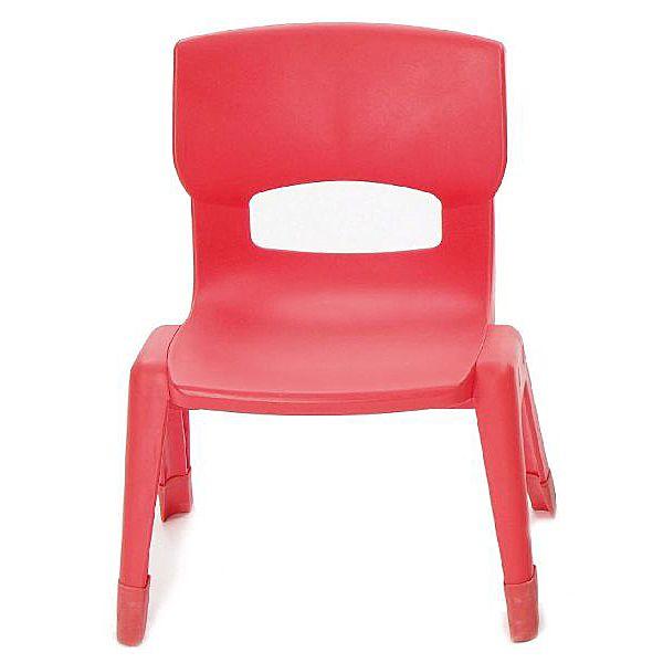Großer Stuhl, rot