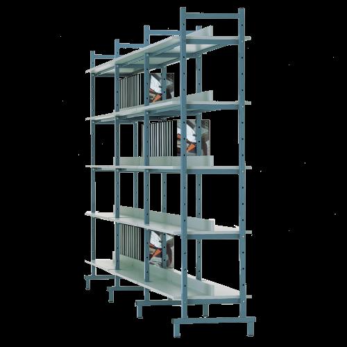 Bücherregal doppelseitig (Erweiterungselement)