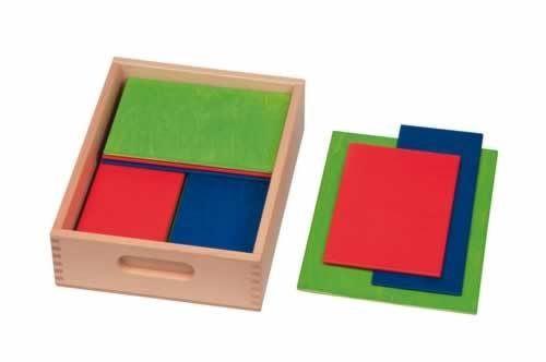 Bauplatten farbig