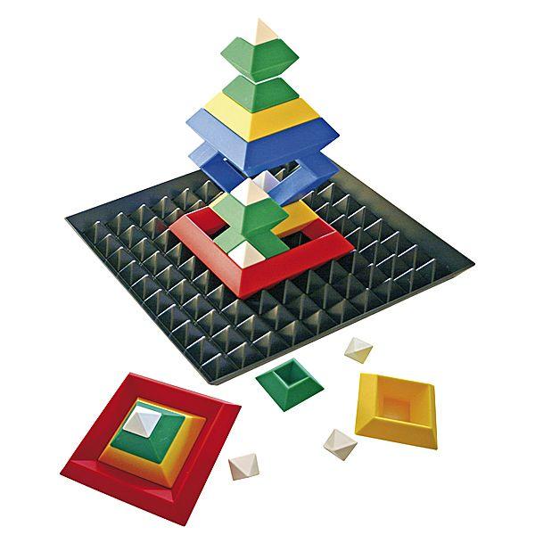 Triangle Puzzle mit Base, 24-tlg. + Base