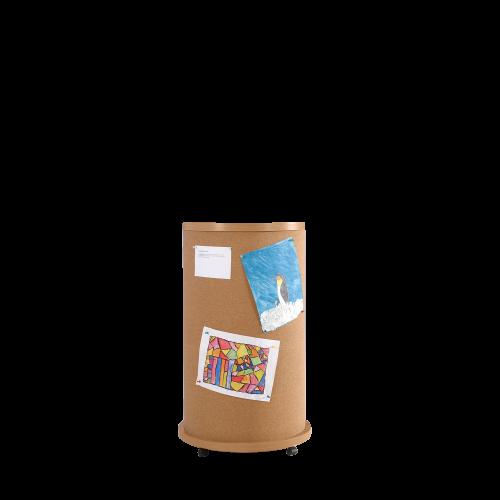 Mobile Litfaßsäule aus hochwertigem Narturkork, Serie KLS