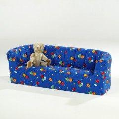 Kinder-Dreisitzer-Sofa BxHxT: 160 x 50 x 60 cm Sitzhöhe 27 cm