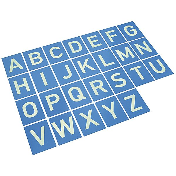 Sandpapierbuchstaben A-Z