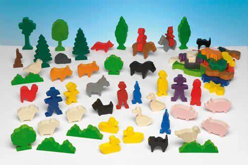 Heimische Tiere Kindergartenpackung