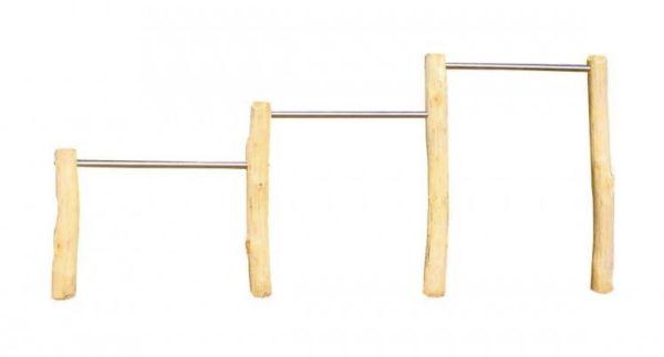 Dreifachreck Robinie 80/110/140 cm