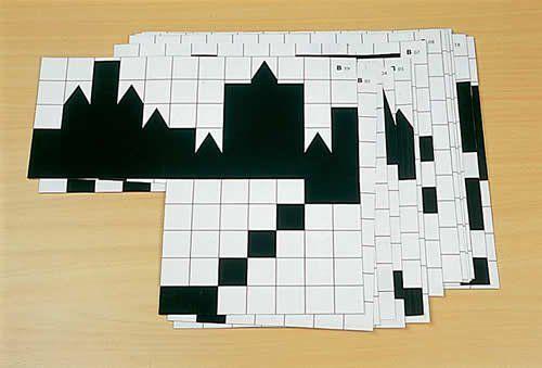 Schatten-Bauspiel + Karten Set neuer Vorlagen