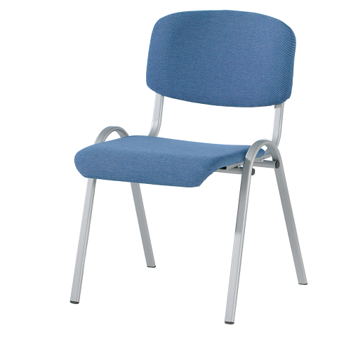 """Ovalrohr-Polsterstuhl Modell """" Stuhl 10"""""""