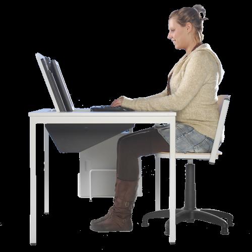 """Computertisch """"It´s Magic"""", mit PC-Halterungen"""