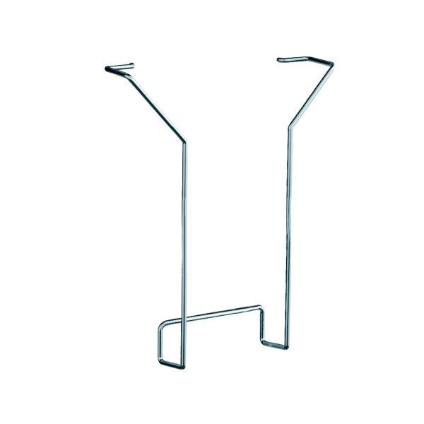 Prospektfach DIN A4 Fülltiefe 33 mm / Zubehör für Lochblech-Element KE-6966