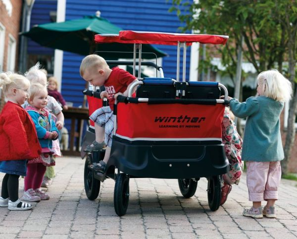 Turtle Kinderbus Basic für 4 Kinder
