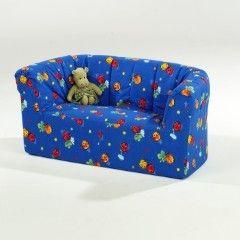 Kinder-Zweisitzer-Sofa BxHxT: 108 x 50 x 60 cm Sitzhöhe 27 cm