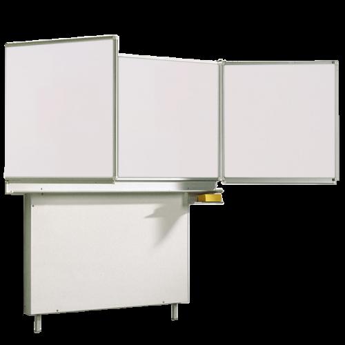 Whiteboard Wandtafel Schultafel aus Premium Stahlemaille, Serie FZ E, weiß
