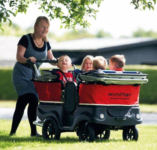 Winther Turtle Kinderbus de Luxe für 4 Kinder