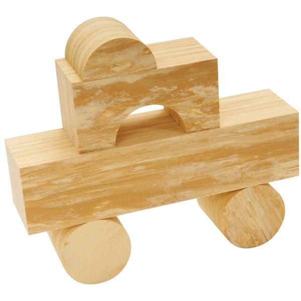 Soft Wood Bausteine 56-tlg.