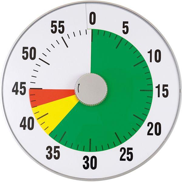 Zeitdauer-Uhr lautlos XL