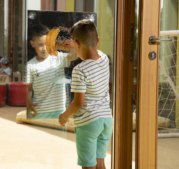 Spiegel für Malfenster