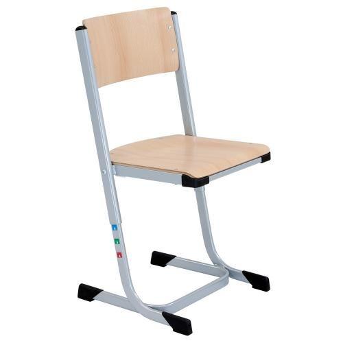 Schulstuhl höhenverstellbar mit Sitzgarnitur Buche