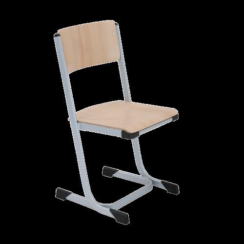 Stapelbarer Schülerstuhl mit Sitzgarnitur aus Buche Sperrholz