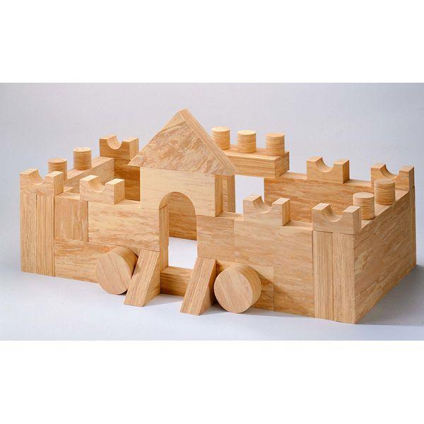 Soft Wood Bausteine 68-tlg.