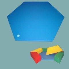 Sechseck-Bodenmatte für Trapezelemente