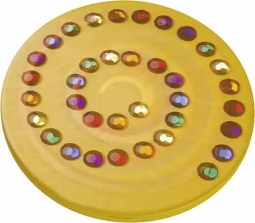 Juwelenkreisel gelb
