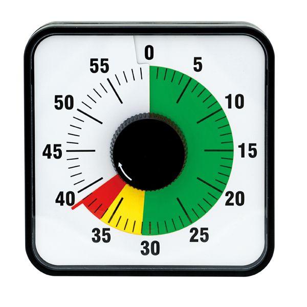 Zeitdauer-Uhr Automatik magnetisch mit Ampelscheibe