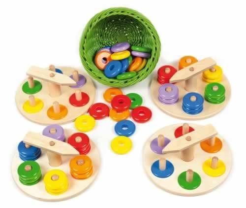 Zeiger-Steckspiel-Set
