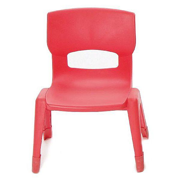 Kleiner Stuhl, rot
