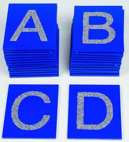 Tastplatten ABC Großbuchstaben