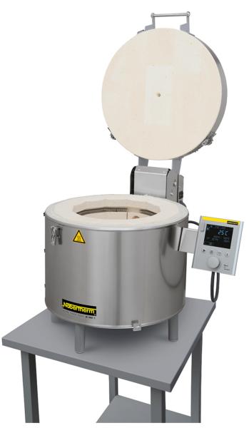 Brennofen Nabertherm Top16/R Toplader • 230V • Controller B400 • Volumen 16 Liter • 1320 Grad