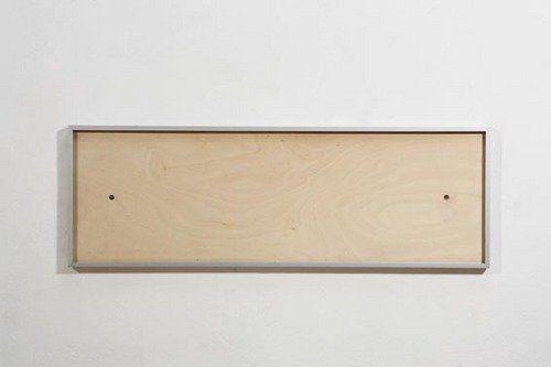 Rahmen Birkensperrholz mit Aluminiumrahmen zum Einschieben