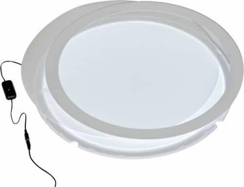 Lichtplatte rund