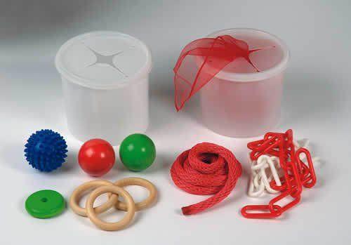 Steck-Dosen-Set mit Material