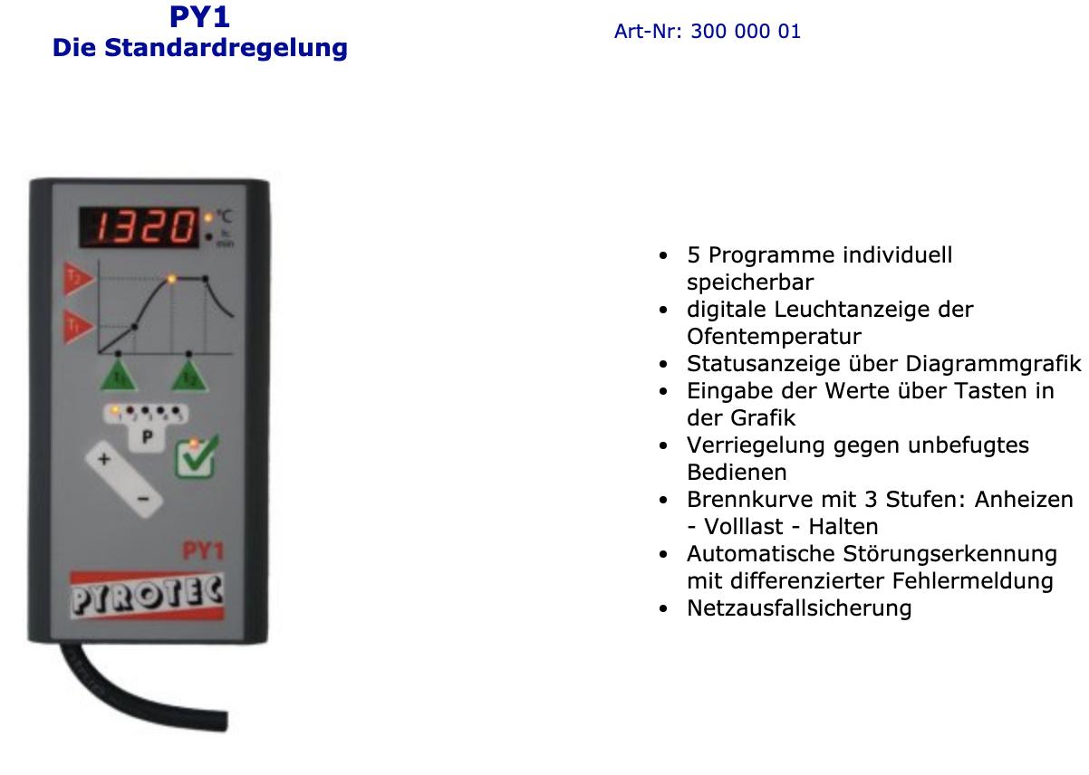 Pyrotec-Regelung-PY1