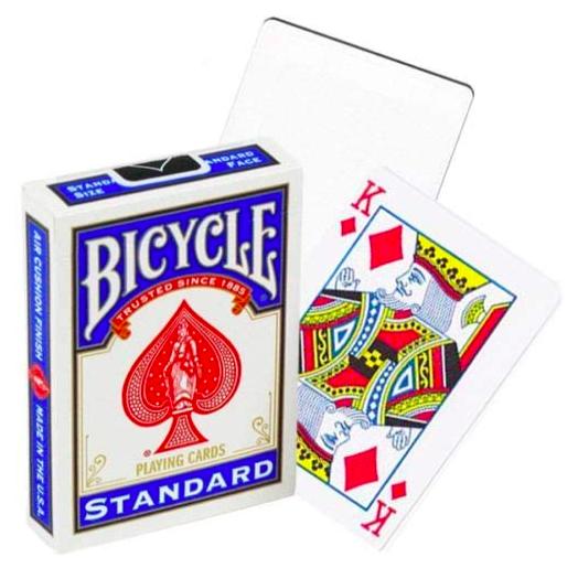 Bicycle Standard Tricks Karten Deck Blau