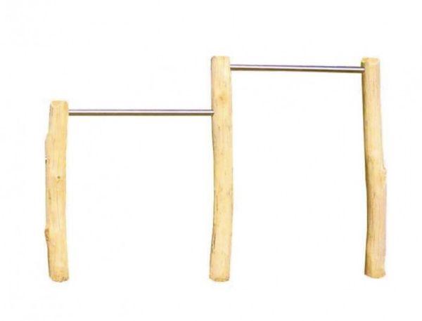 Doppelreck Robinie 80/110 cm Stangenhöhe
